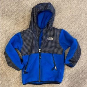 Boys 4T North Face hooded jacket